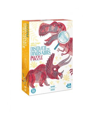 PUZZLE - DISCOVER THE DINOSAURS