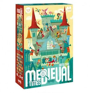 PUZZLE - GO TO THE MEDIEVAL TIMES (NEW)