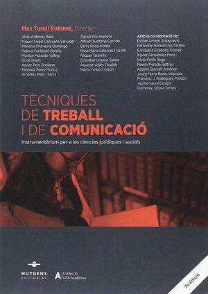 TÈCNIQUES DE TREBALL I DE COMUNICACIÓ