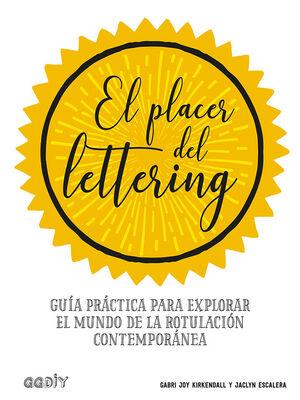 EL PLACER DEL LETTERING