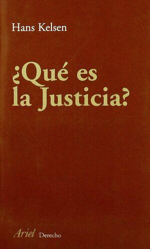 ¿QUÉ ES JUSTICIA?