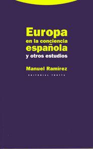 EUROPA EN LA CONCIENCIA ESPAÑOLA Y OTROS ESTUDIOS