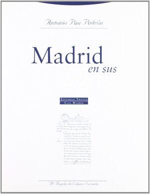 MADRID EN SUS LIBROS
