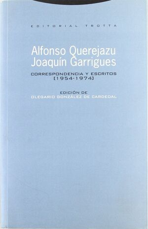 CORRESPONDENCIA ESCRITOS 1954-1974 RTCA