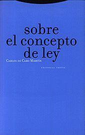 SOBRE EL CONCEPTO DE LEY