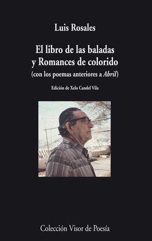 EL LIBRO DE LAS BALADAS Y ROMANCES DE COLORIDO